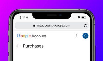 Google purchase history suspicions.