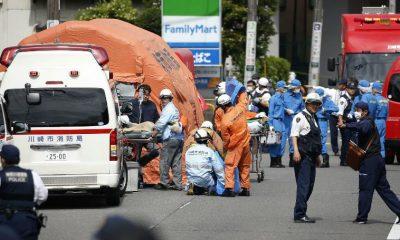 19 victims in mass stabbing in Kawasaki, Japan.
