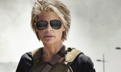 Sarah Connor back for Terminator: Dark Fate by James Cameron.