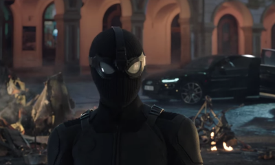 New spiderman stealth suit too cool for Peter Parker