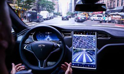 Tesla Navigate on Autopilot lags behind.