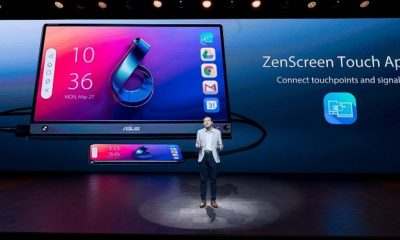 ZenScreen Touch MB16AMT unveiled with touchscreen feature.