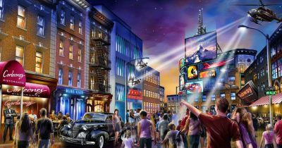 London Resort Theme Park partnering with Paramount Pictures to expand their park.