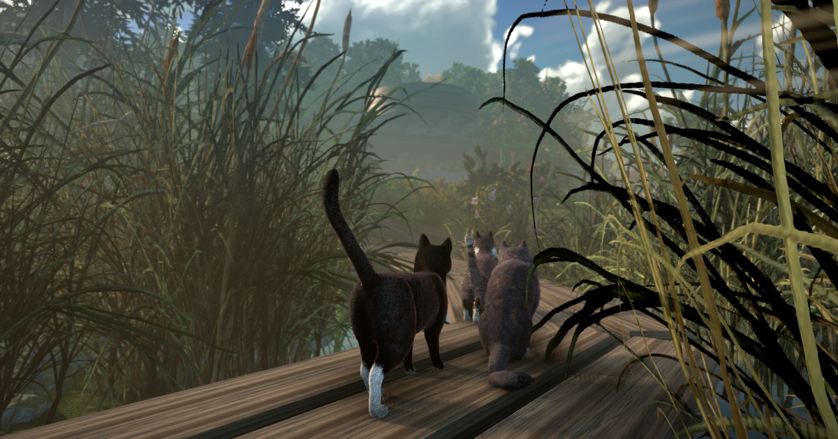 This Open World Game Allow You To Solve Mysteries As A Gang Of Cats
