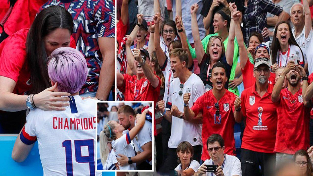 Megan Rapinoe's Girlfriend And Fans Go Wild As US Women's