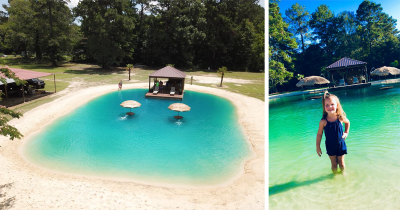 This Guy Came Up With An Idea To Transform Any Backyard Into A Beach.