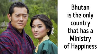 14 facts about the happiest country in the world, Bhutan.