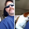 Beagle Scheduled For Euthanasia Gave Warm Hugs To The Man Who Saved Him