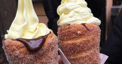 These Ice Cream Stuffed Doughnut Cones Are Everything You'd Ever Want In Life