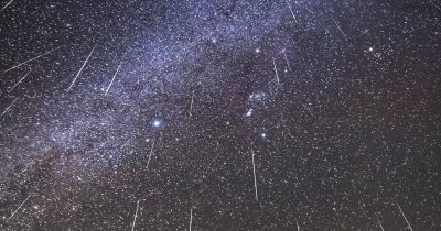 Double Meteor Shower Will Peak Tonight As Two Heavenly Events Overlap.