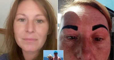 Woman's Dream Holiday Ruined After Beauticians Left Her With 'Angry Birds' Eyebrows.