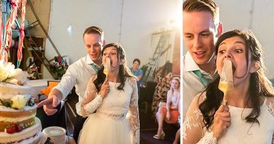 British Photographer Took Hilariously Unusual Wedding Photos And People Love Them