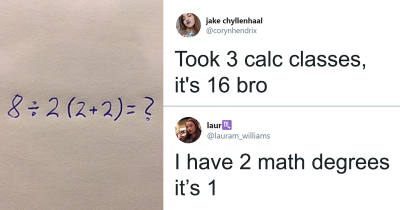 Simple Math Equation Goes Viral Since People Can't Agree On A Single Answer.