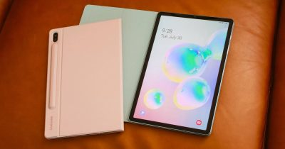 Samsung Galaxy Tab S6 competing with Apple iPad Pro.