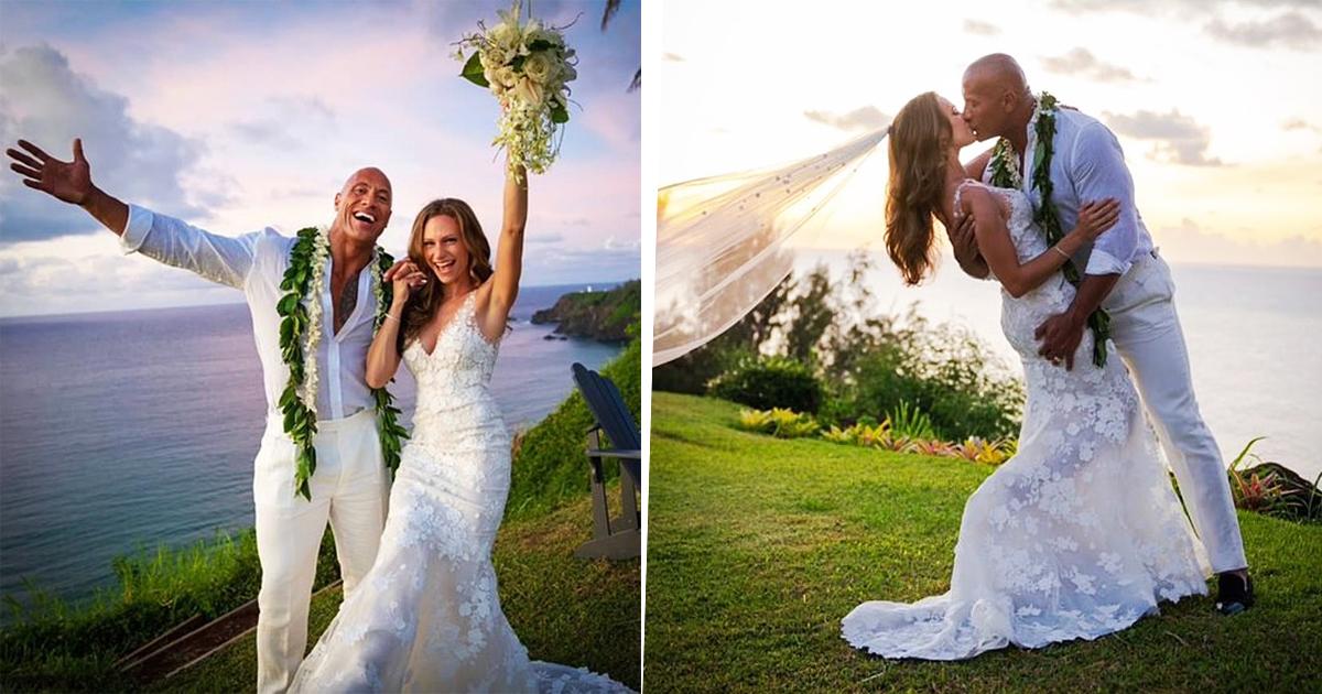 Dwayne 'The Rock' Johnson Marries Lauren Hashian In Amazing Hawaii Ceremony