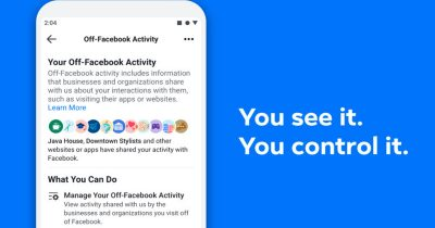 Facebook Launches New Tool That Lets You Stop It From Tracking You On Other Sites