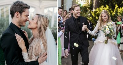 YouTuber PewDiePie Gets Married In A Beautiful Woodland Wedding