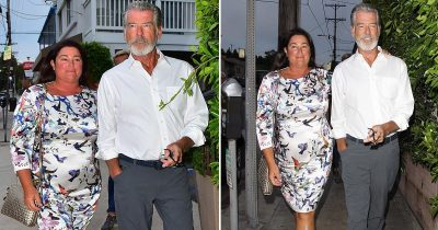 Pierce Brosnan Looks Dapper As He Goes For Romantic Date With Wife Keely