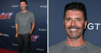Simon Cowell lost 20 lbs and is showing it off on this season's AGT.