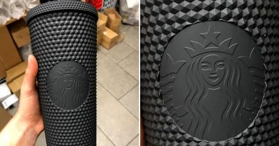 "Starbucks Has A New Nonglossy Black Speckled Tumbler That Will Make You Scream ""Witch Please"""