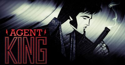 Netflix just ordered for Agent King, Elvis' animated action-comedy series co-created by Elvis' ex-wife.