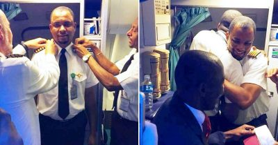 Aircraft Cleaner Becomes Captain After 24 Years Of Hard Work