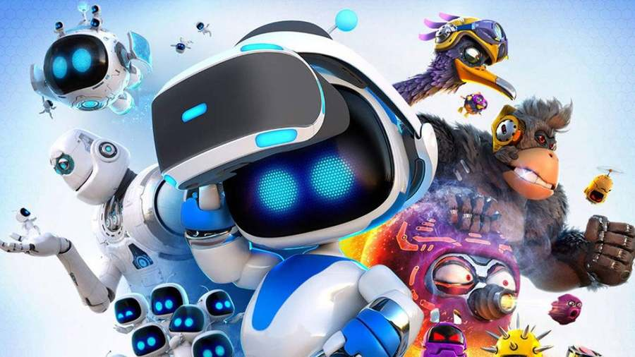 Free Astro Bot Rescue Mission VR Game given out by PlayStation 4 to random players.