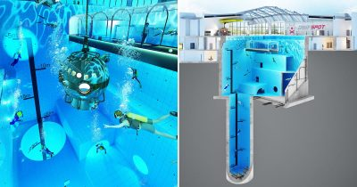 World's Deepest Swimming Pool Is Opening In Poland.