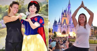 Mom Celebrates Kids' First Day Of School By Visiting Disney World Alone