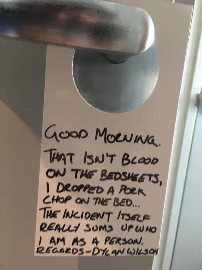 20+ Hilariously Worst Guests In Hotels And Airbnb Ever