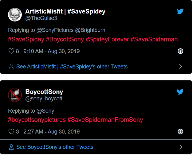 Sony And Marvel Split Over Spider-Man Rights: Boycott Threats Have Been Thrown