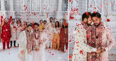 Indian Couple Held A Traditional Wedding Ceremony In Hindu Temple, And The Pictures Went Viral