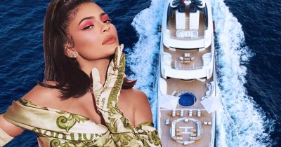 Kylie Jenner's $250M Yacht For Her Birthday Party