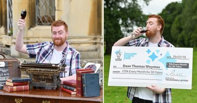 Amazon Worker, 24, Quit His Job A Day After Winning Lottery Of £10,000 Per Month For 30 Years