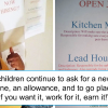 This mom means business as she makes kids work to earn their allowance.