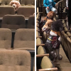 Well-behaved service dogs in training attended a Relaxed Performance of 'Billy Elliot the Musical' at Stratford Festival.